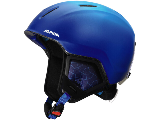 Alpina Carat XT Casco da sci Bambino, blue-gradient matt